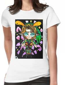 The Legend of Zelda: Majora's Mask Womens Fitted T-Shirt
