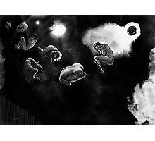human asteroids Photographic Print