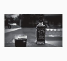 Jack Daniel's Whiskey over swimming pool Kids Clothes