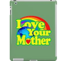Love Your Mother (Vintage Distressed Design) iPad Case/Skin