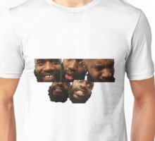 the many faces of mc ride Unisex T-Shirt