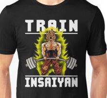 TRAIN INSAIYAN (Goku Deadlift) Unisex T-Shirt