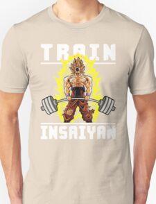 TRAIN INSAIYAN (Goku Deadlift) Unisex T-Shirt