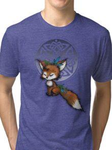 Celtic Spirit Fox Tri-blend T-Shirt