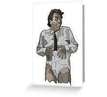 Rik Mayall Greeting Card