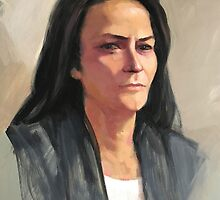 Portrait of Amber by Roz McQuillan