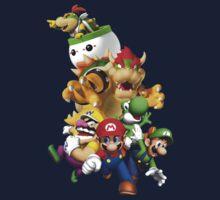 Mario, Luigi, Yoshi, Bowser.... by clara-linda