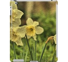 Nodding Golden Daffodils iPad Case/Skin