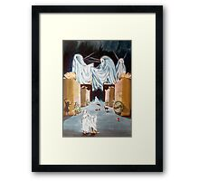 Playing the Beyond Framed Print