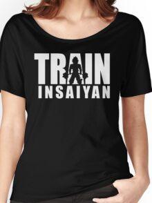 TRAIN INSAIYAN (Deadlift Iconic) Women's Relaxed Fit T-Shirt