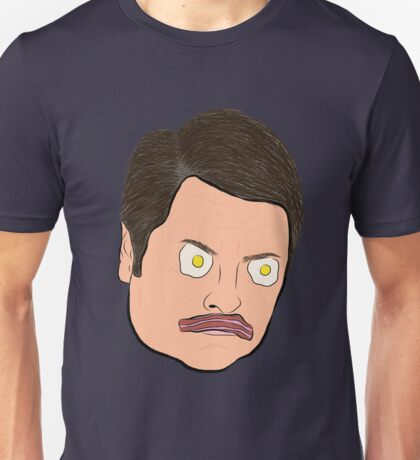 Bacon and Eggs Ron Swanson Unisex T-Shirt