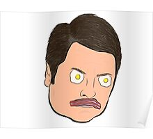 Bacon and Eggs Ron Swanson Poster