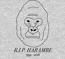 R.I.P. Badly Drawn Harambe Unisex T-Shirt