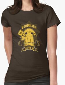 Vermilion Gym T-Shirts Womens Fitted T-Shirt