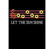 The Sun song  Photographic Print