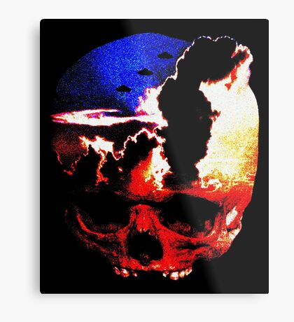in my mind there's no sorrow Metal Print