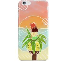 Pokémon Sun and Moon - Trainer and Exeggutor iPhone Case/Skin