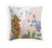 Warm Desert Afternoon's Greatest Hits Vol. 1 Throw Pillow