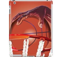 Basketball Slam Dunk Point Print  iPad Case/Skin