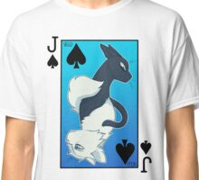 Jackdaw's Cry & Falling Feather Playing Card Classic T-Shirt