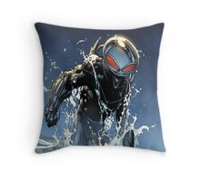 Black Manta Throw Pillow