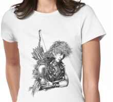 Cael'Óri - Heart of the Archer Womens Fitted T-Shirt