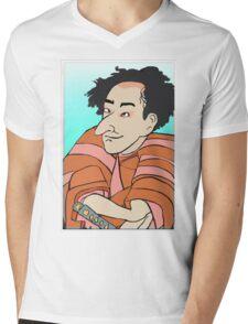 A Samurai named Larry. Mens V-Neck T-Shirt
