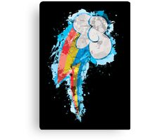 Rainbow Dash CM Splatter Canvas Print