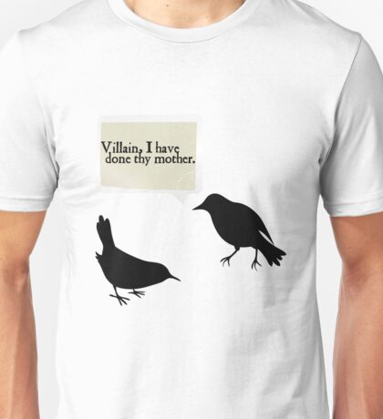 Shakespeare Insults Unisex T-Shirt