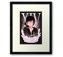 Number XIV, Xion Framed Print