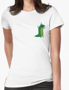 party reptile Womens Fitted T-Shirt
