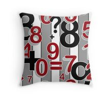 """School fun"" Design for students and kids. Throw Pillow"