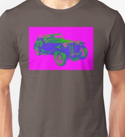 Mg Tc Antique Car Pop Image Unisex T-Shirt