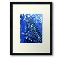 Berlin - DB Tower Framed Print
