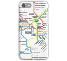 Funny DC Metro iPhone Case/Skin