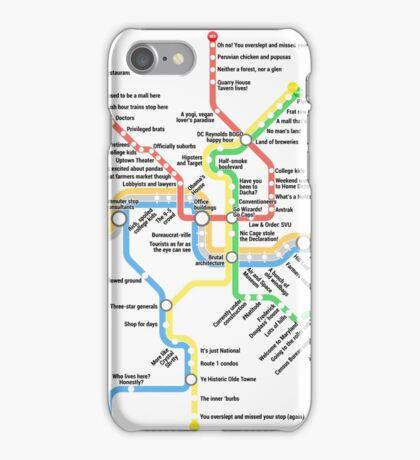 Funny DC Metro iPhone Case/Skin