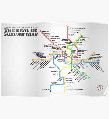 Funny DC Metro Poster