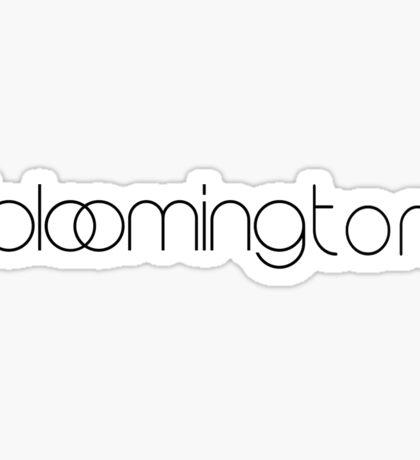 Bloomingdales Bloomington Sticker