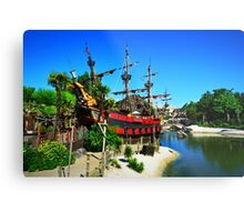 Disneyland Ship Metal Print