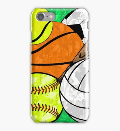 Splattered Sports  iPhone Case/Skin