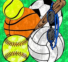 Splattered Sports  by Lindsey Reese