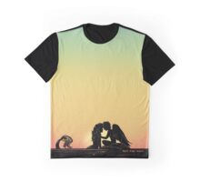 Merman & Harpy Sunset Graphic T-Shirt
