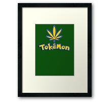 Tokemon - gotta smoke em all Framed Print