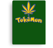 Tokemon - gotta smoke em all Canvas Print