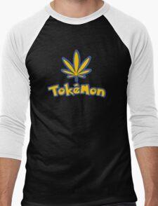Tokemon - gotta smoke em all Men's Baseball ¾ T-Shirt
