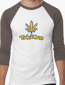 Tokemon - gotta smoke em all Men's Baseball ¾ T-Shirt