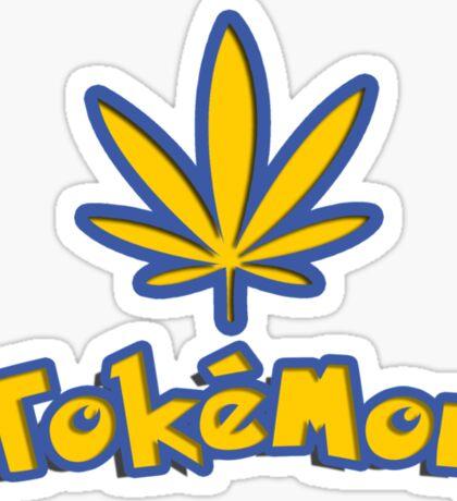 Tokemon - gotta smoke em all Sticker