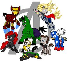 The Avengers Pony Club by Rurisk