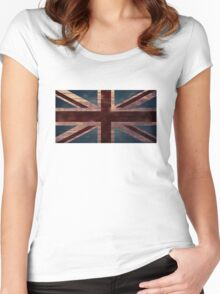 Union Jack I Women's Fitted Scoop T-Shirt