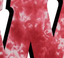 University of Wisconsin Tiedye Sticker